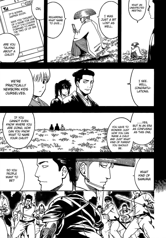 Gintama Chapter, 537 image 015