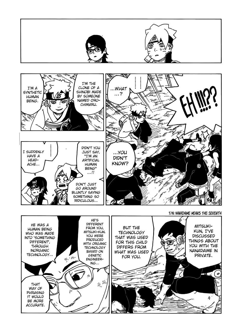 Boruto Manga, Chapter 25 image 040