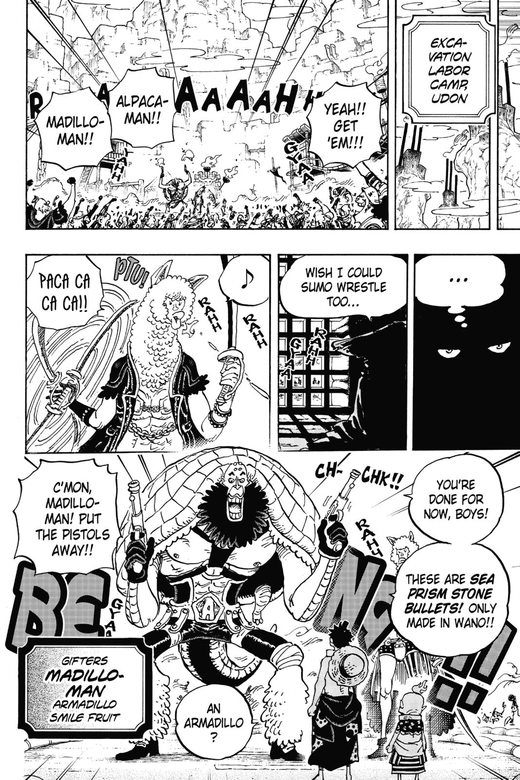 One Piece, Chapter 939 image 009
