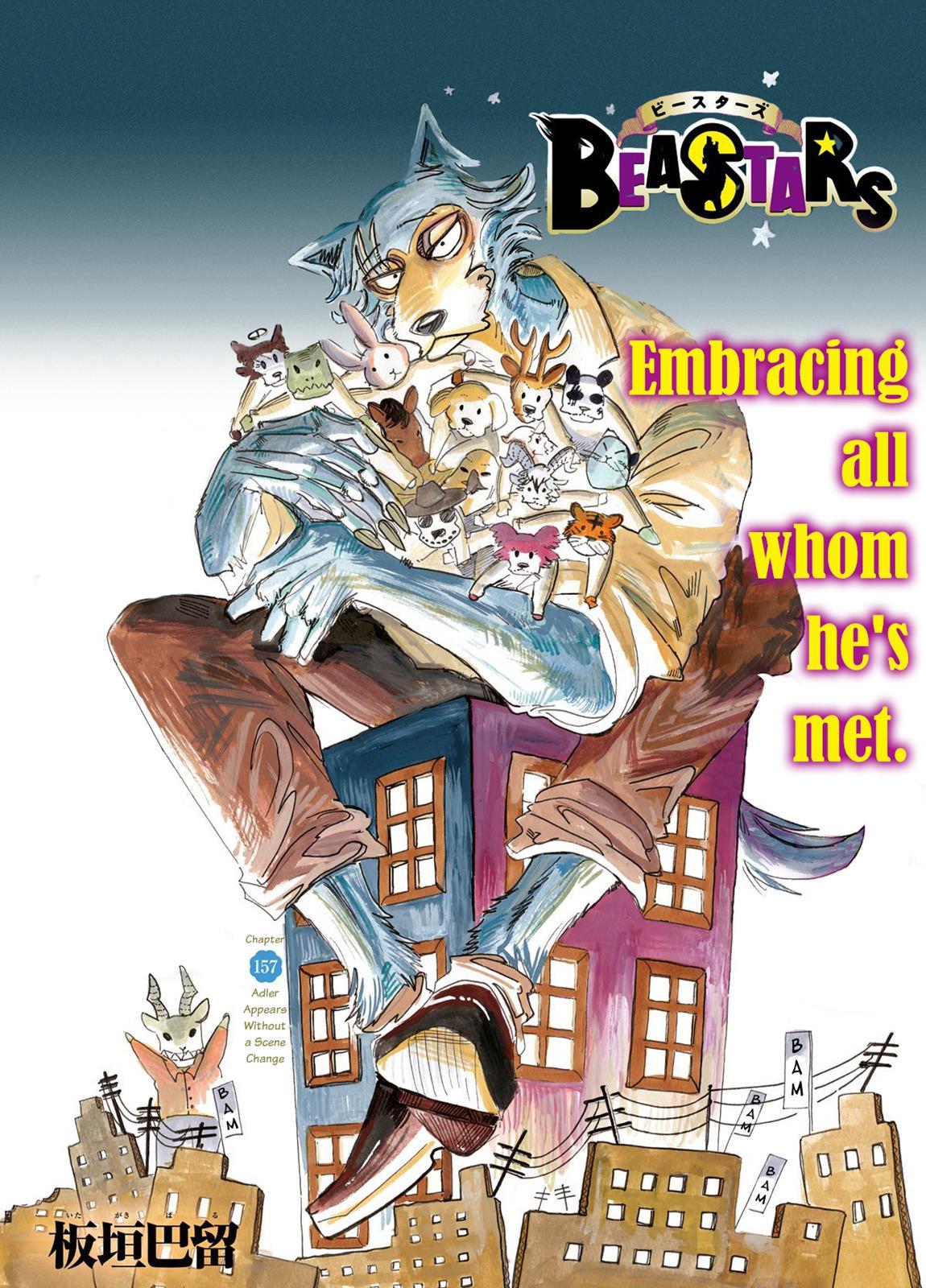 Beastars Manga, Chapter 157 image 001