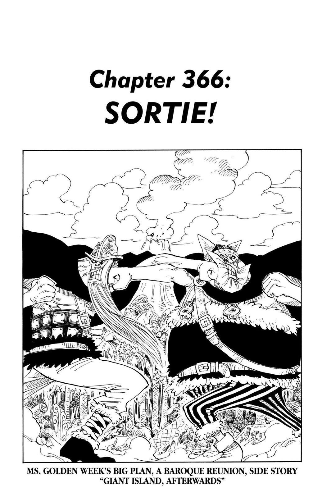 One Piece, Chapter 366 image 001