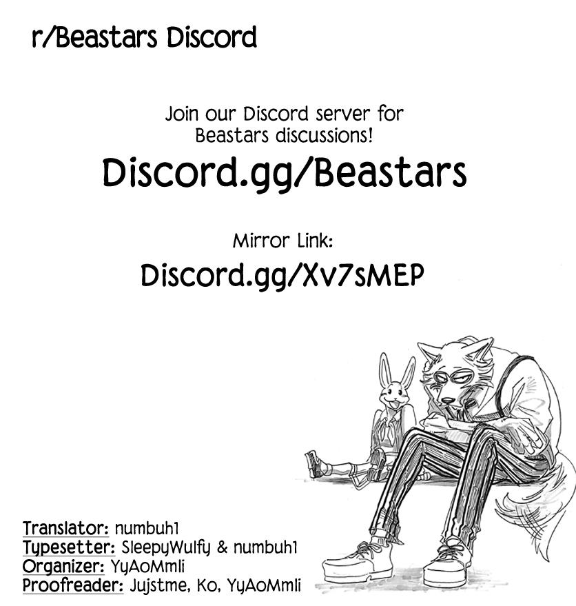 Beastars Manga, Chapter 169 image 020