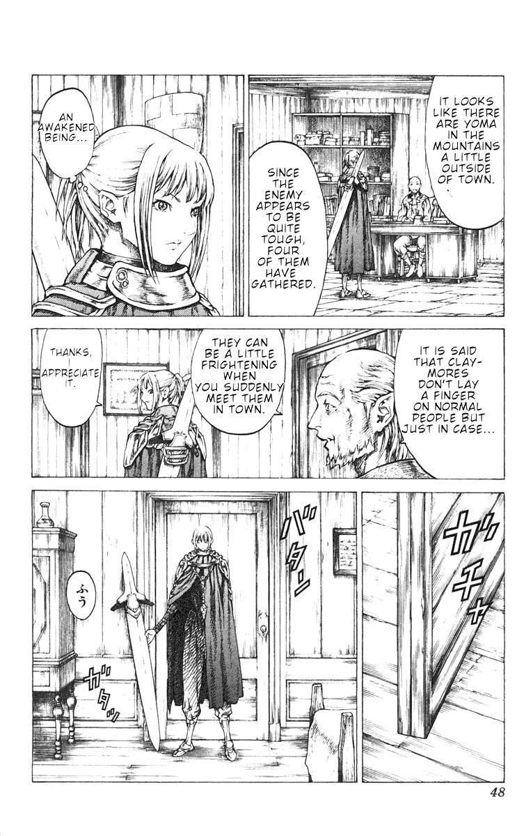 Claymore, Chapter 41 image 011