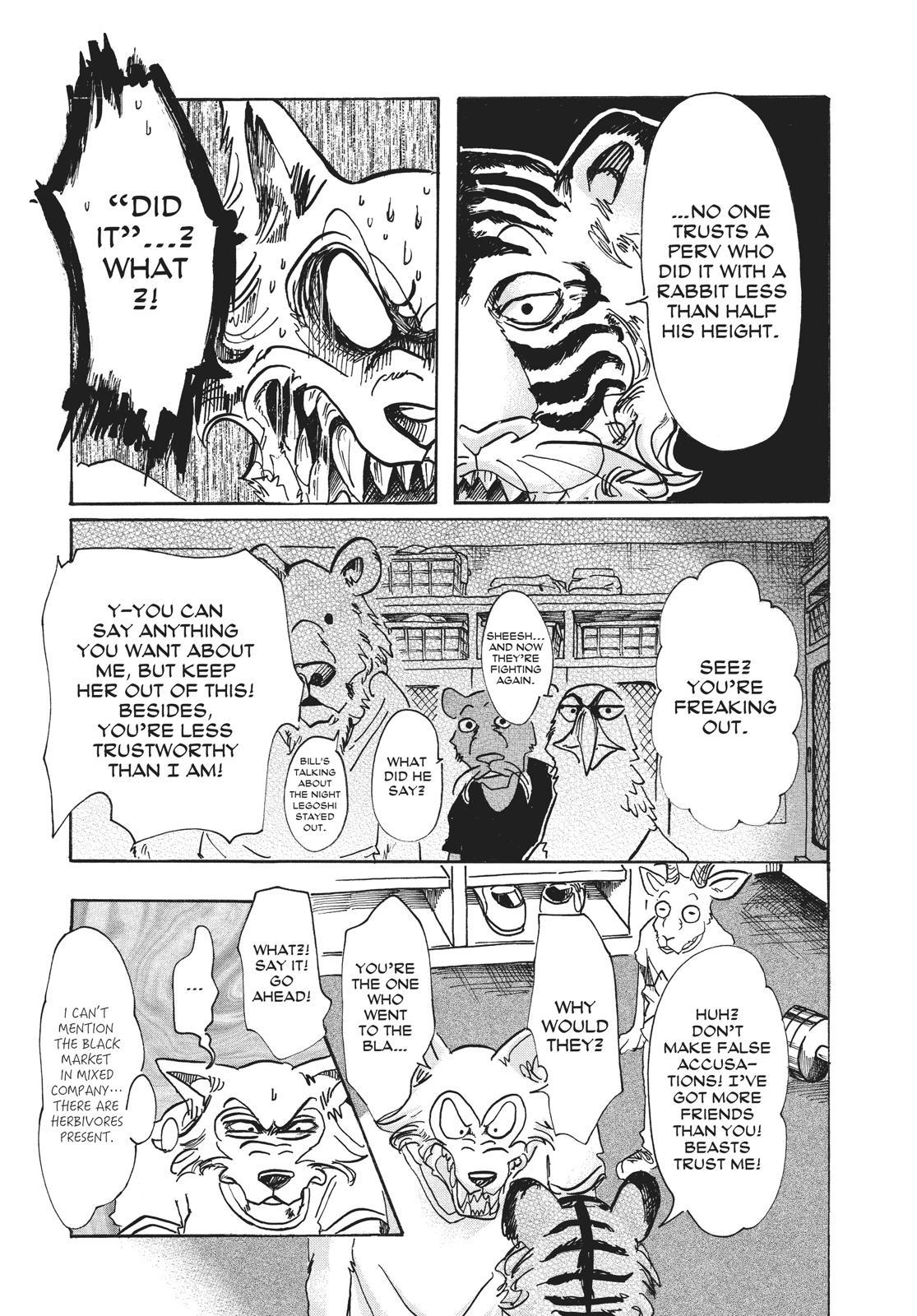 Beastars Manga, Chapter 58 image 009