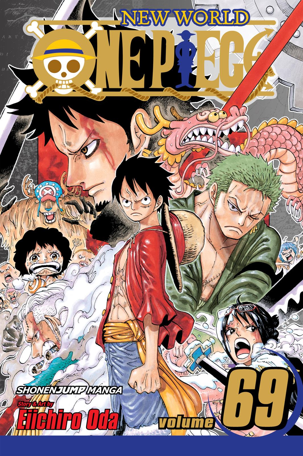One Piece, Chapter 679 image 001