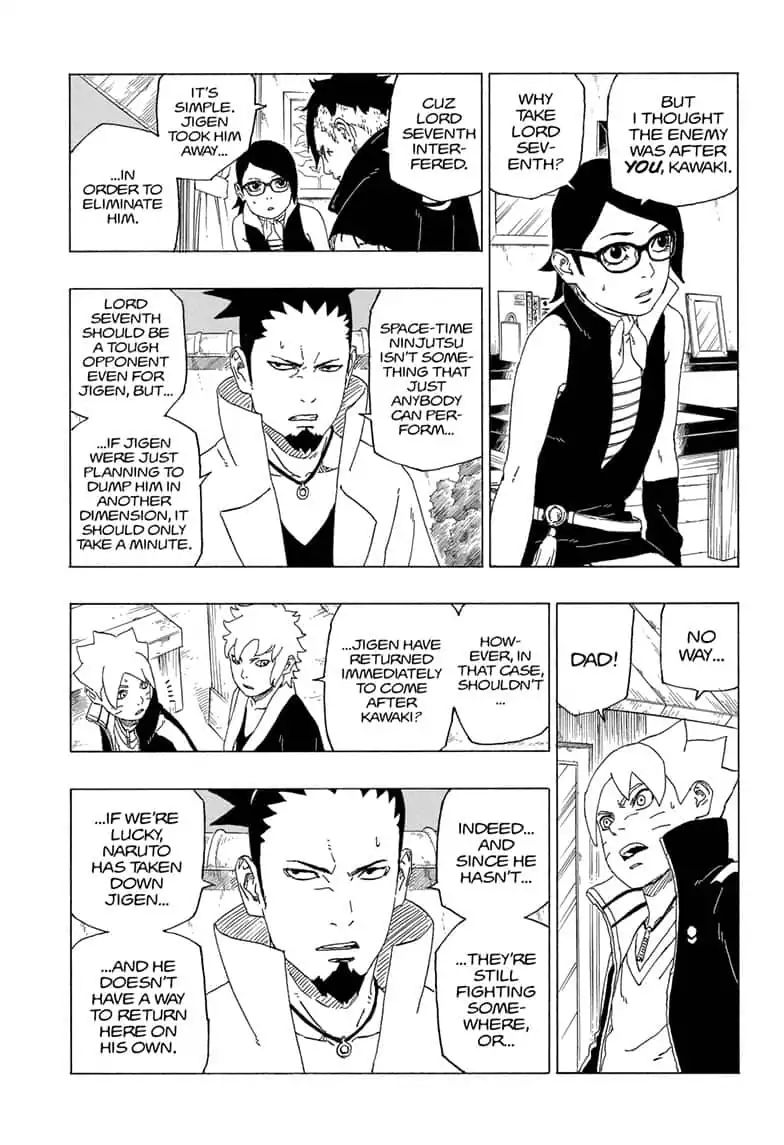 Boruto Manga, Chapter 39 image 009