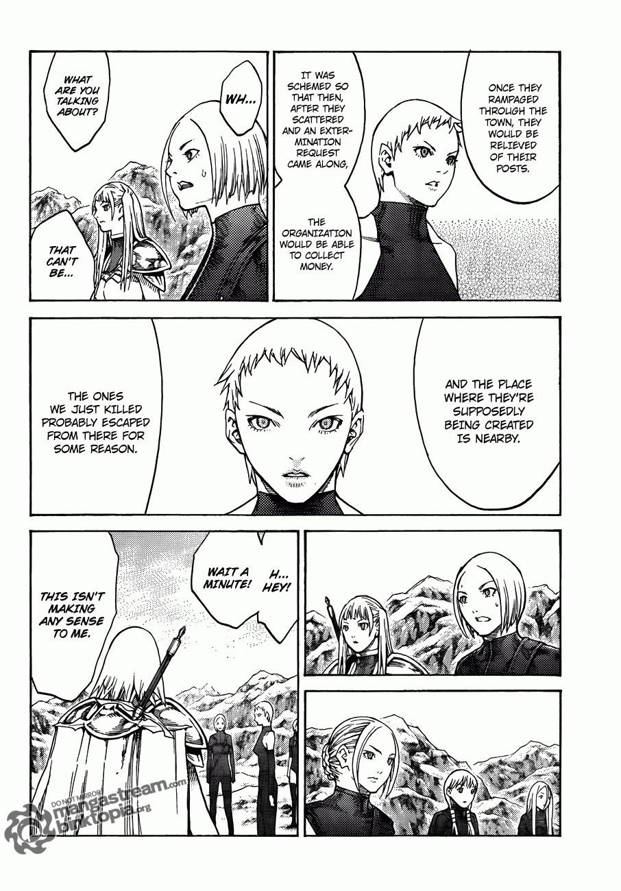 Claymore, Chapter 112 image 026