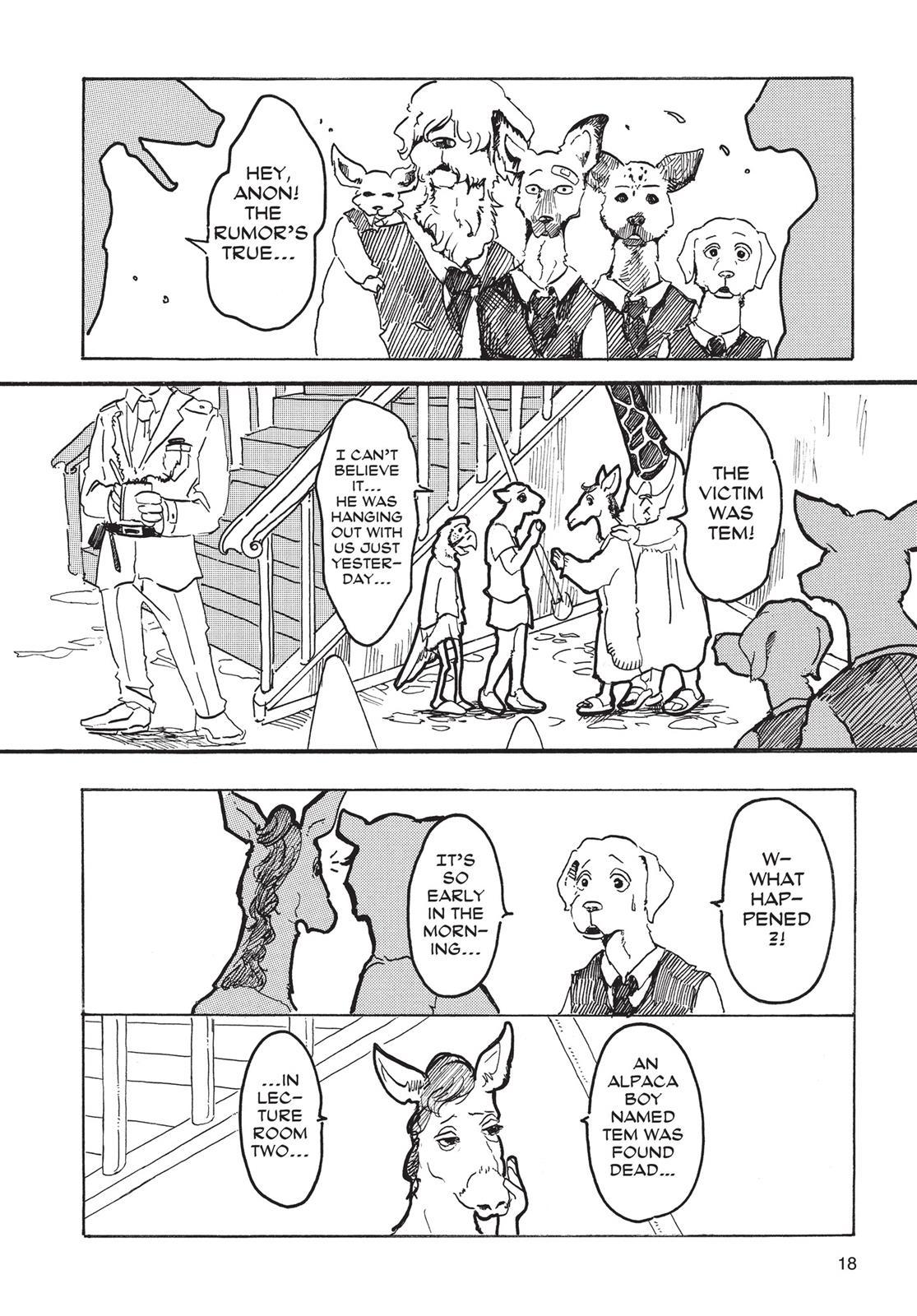 Beastars Manga, Chapter 1 image 017