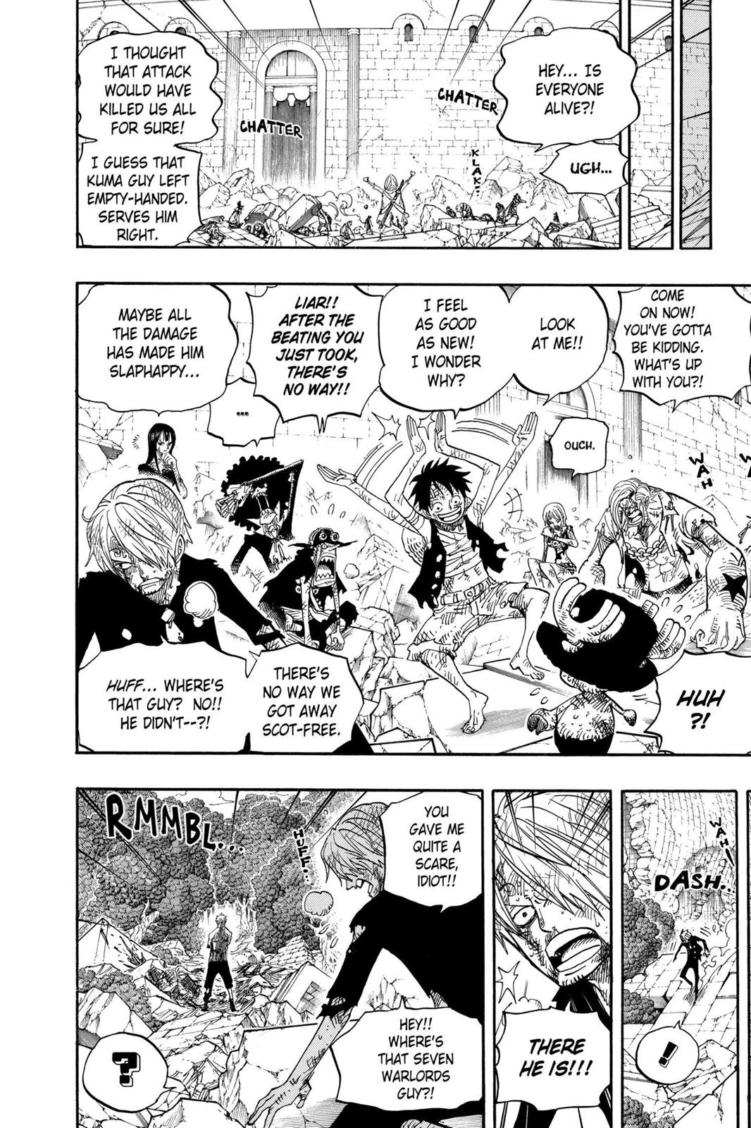 One Piece, Chapter 485 image 018