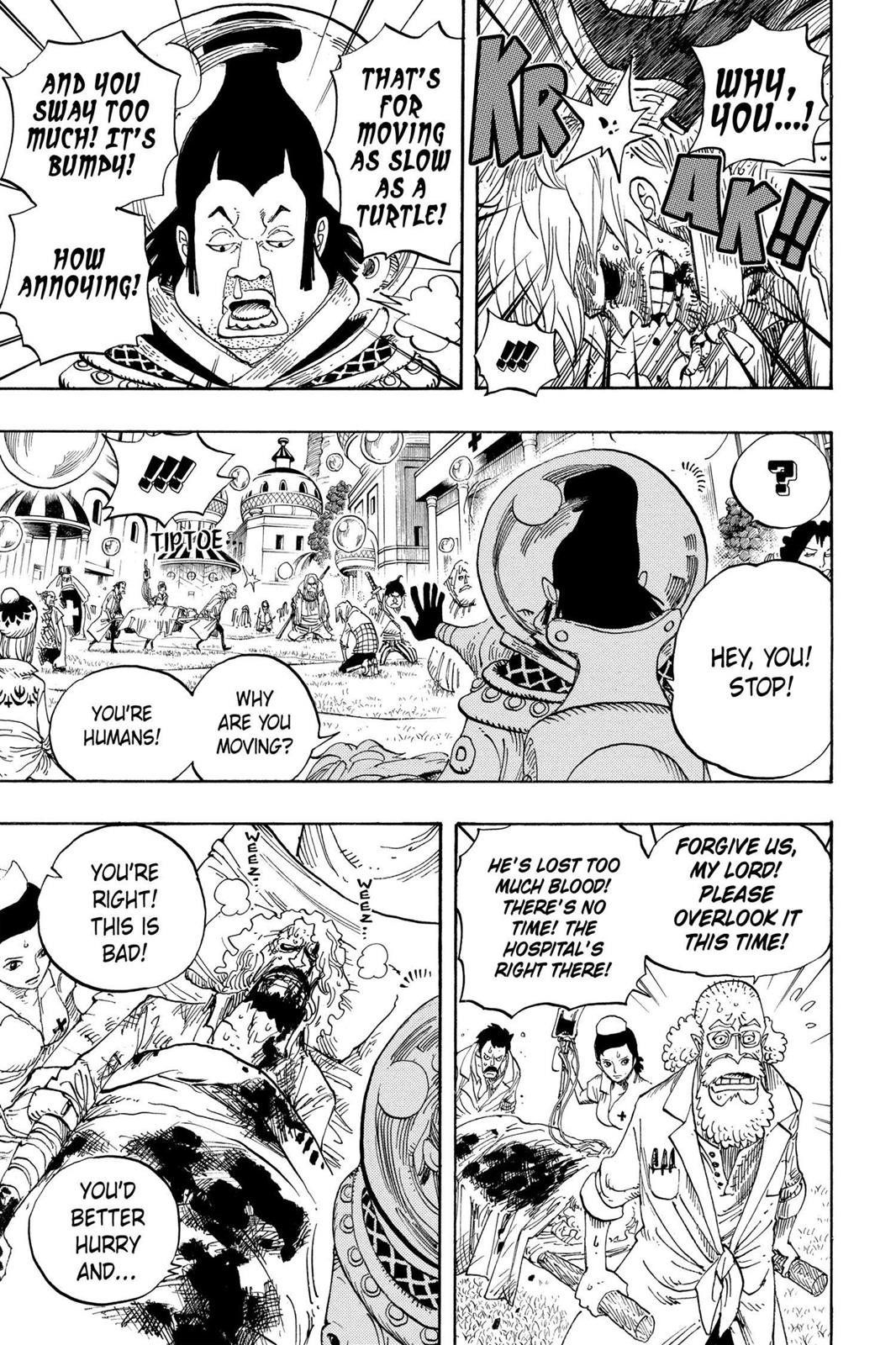 One Piece, Chapter 499 image 011
