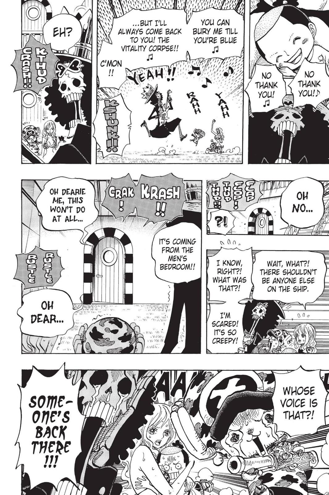 One Piece, Chapter 705 image 018