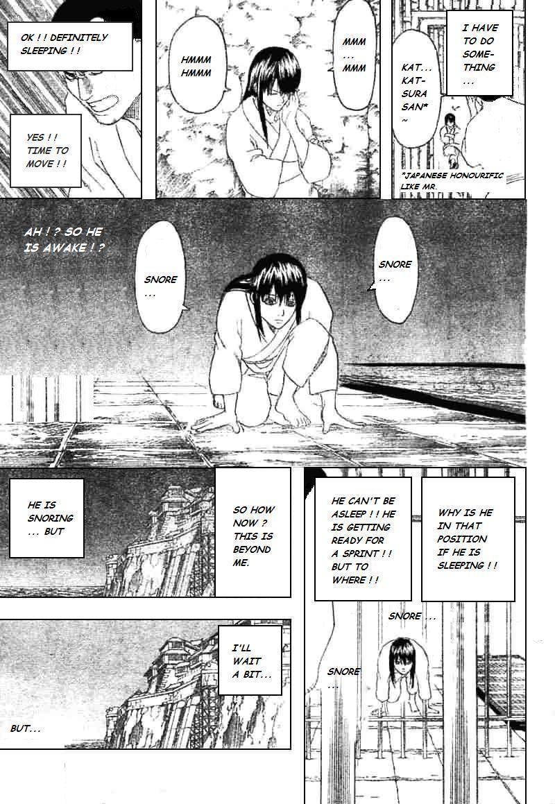 Gintama Chapter, 193 image 009