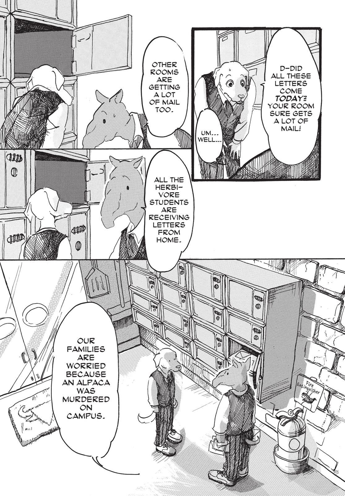 Beastars Manga, Chapter 2 image 005