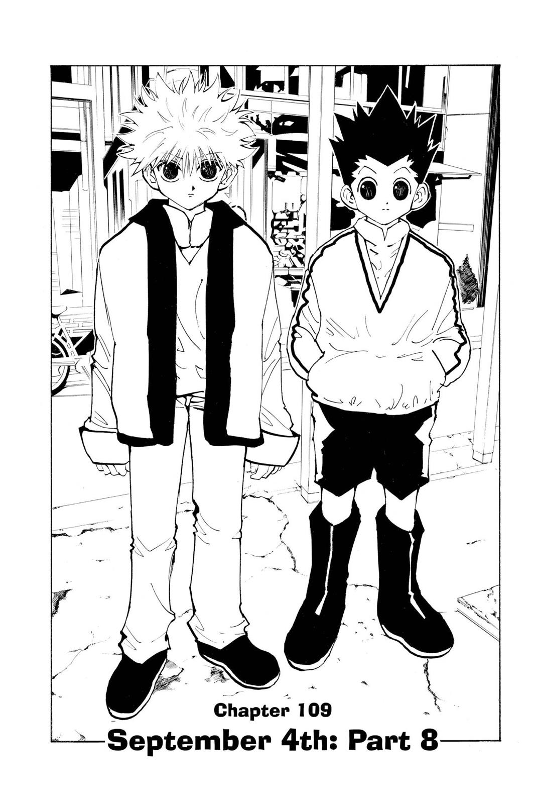 Hunter X Hunter, Chapter 109 image 002