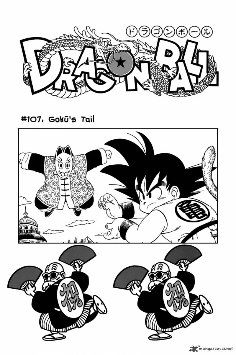 Dragon Ball, Chapter 107 image 002