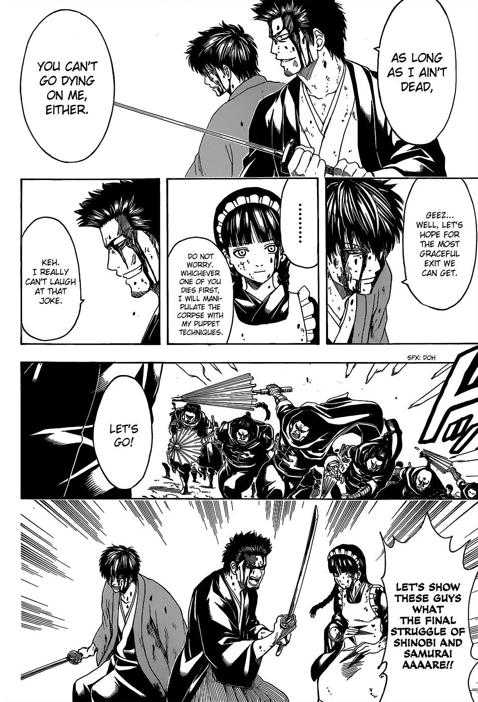 Gintama Chapter, 521 image 012