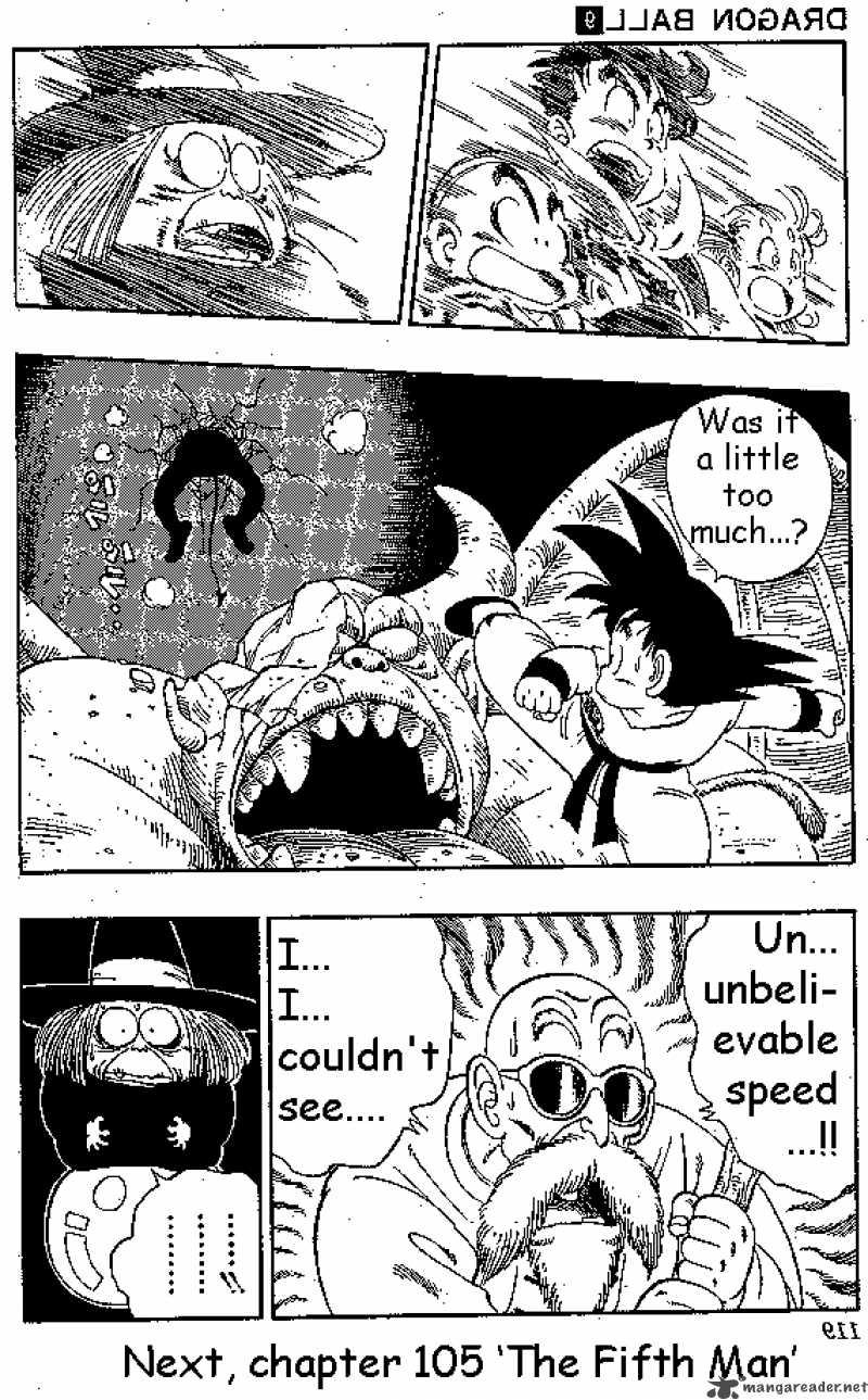 Dragon Ball, Chapter 104 image 014