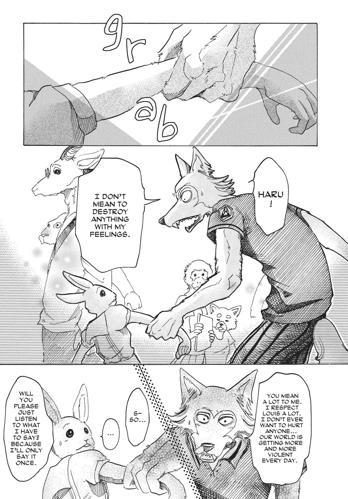 Beastars Manga, Chapter 34 image 016