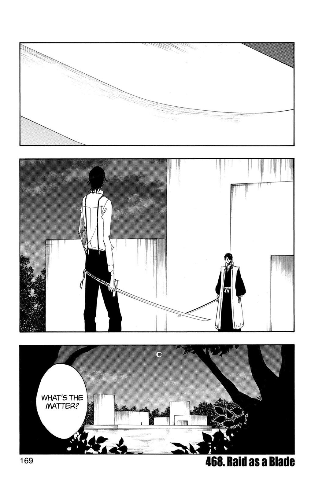 Bleach, Chapter 468 image 001