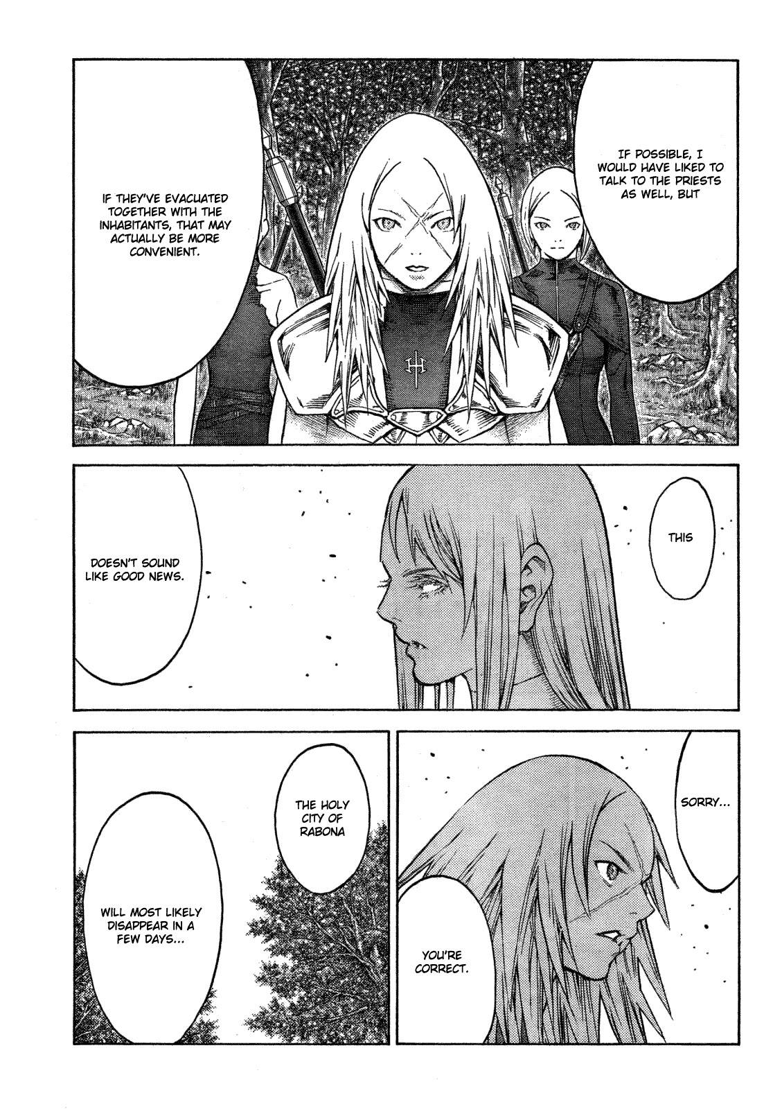 Claymore, Chapter 128 image 021