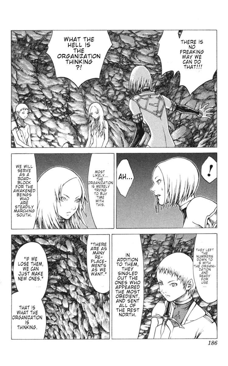 Claymore, Chapter 51 image 028