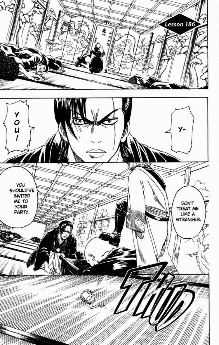 Gintama Chapter, 186 image 001