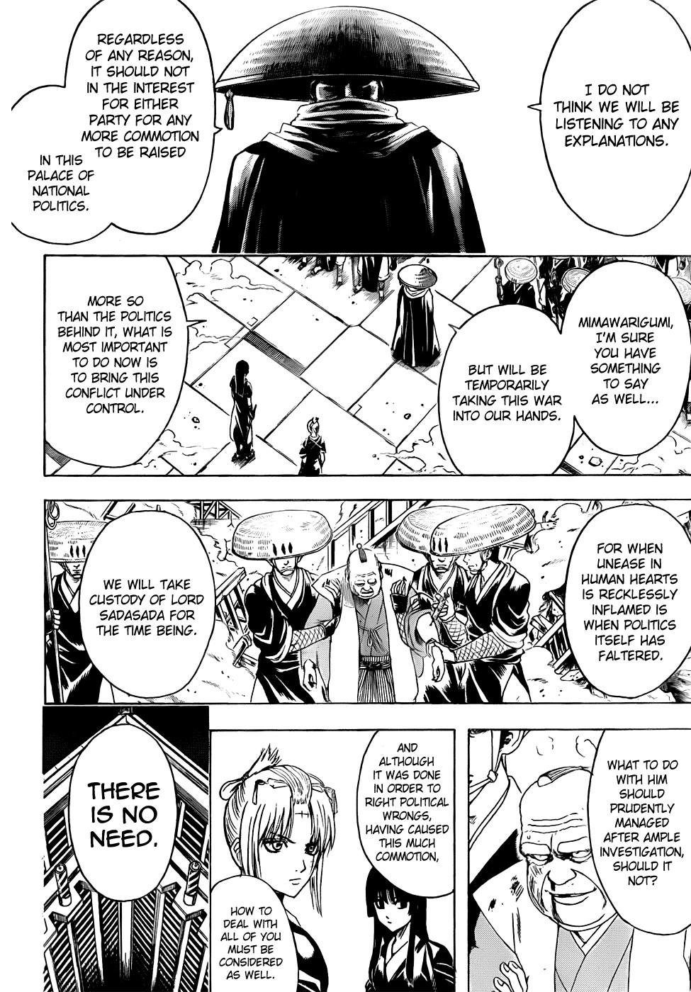 Gintama Chapter, 397 image 013