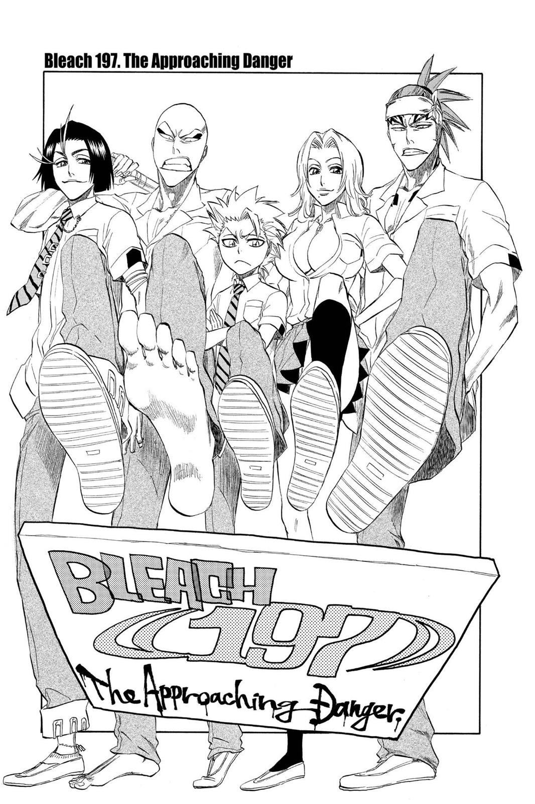 Bleach, Chapter 197 image 005
