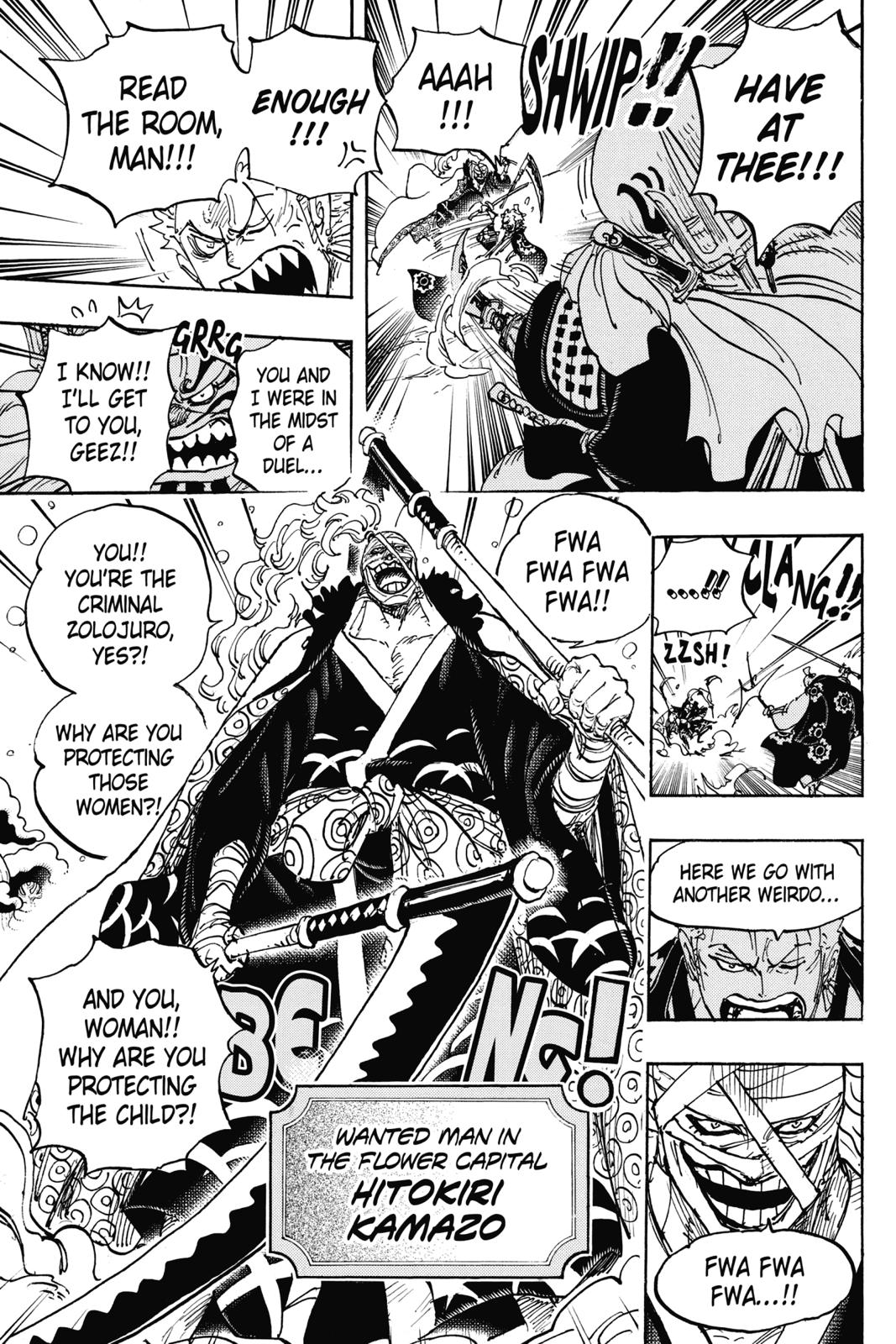 One Piece, Chapter 937 image 011