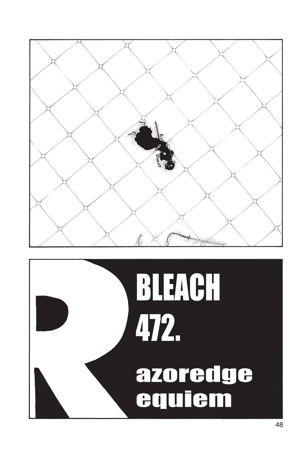 Bleach, Chapter 472 image 002