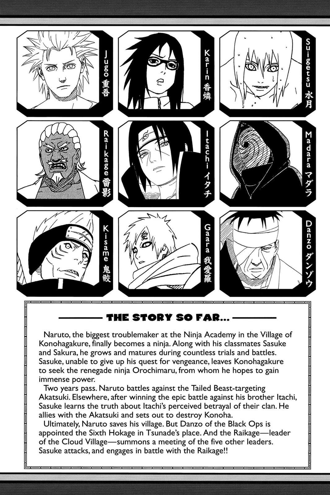 Naruto, Chapter 464 image 006