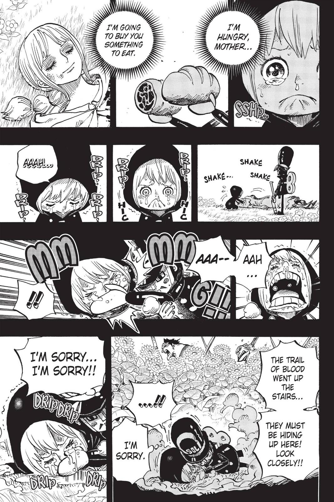 One Piece, Chapter 721 image 009