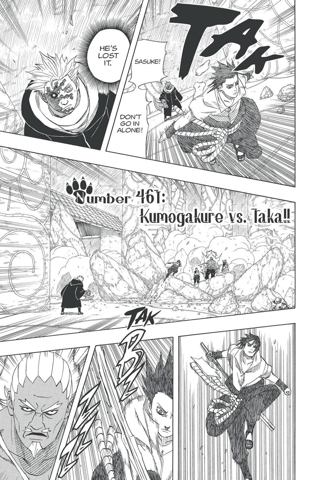 Naruto, Chapter 461 image 001