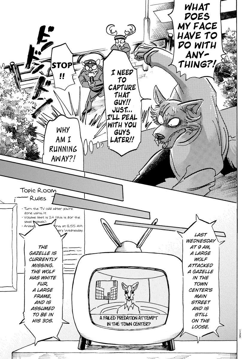 Beastars Manga, Chapter 151 image 017