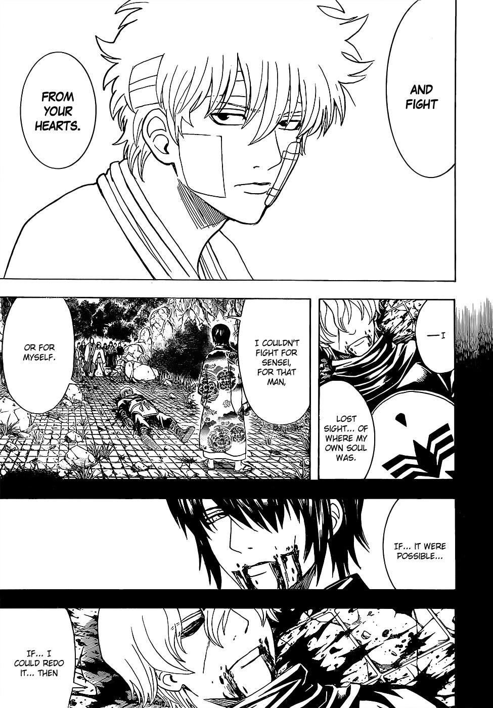Gintama Chapter, 595 image 003