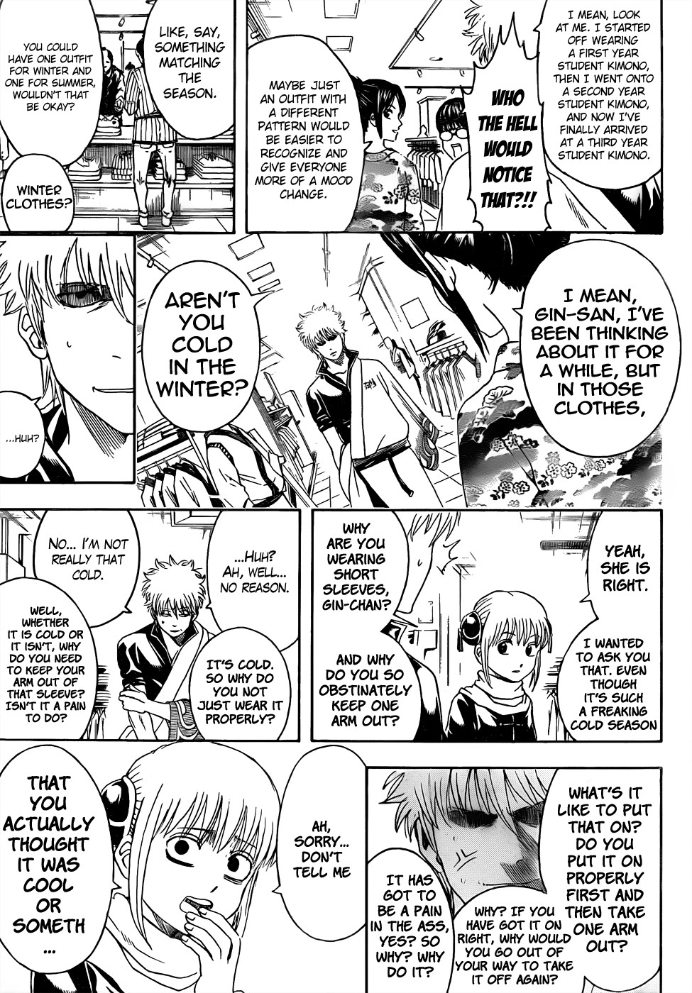 Gintama Chapter, 434 image 009