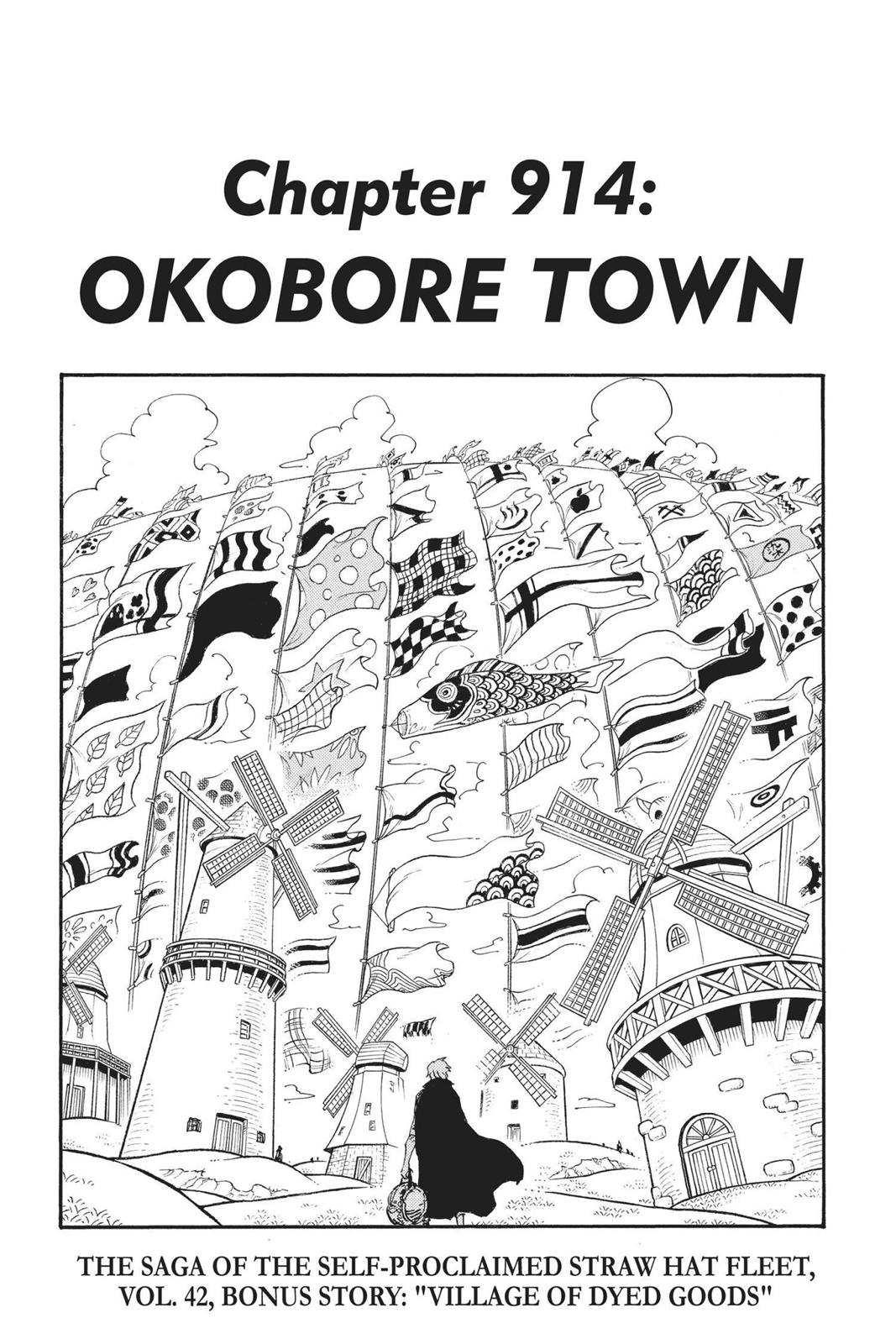 One Piece, Chapter 914 image 001
