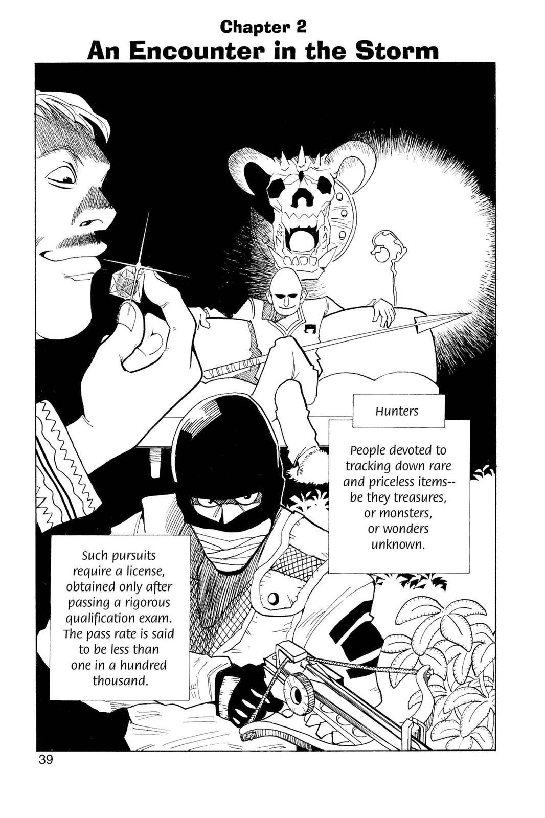 Hunter X Hunter, Chapter 2 image 001