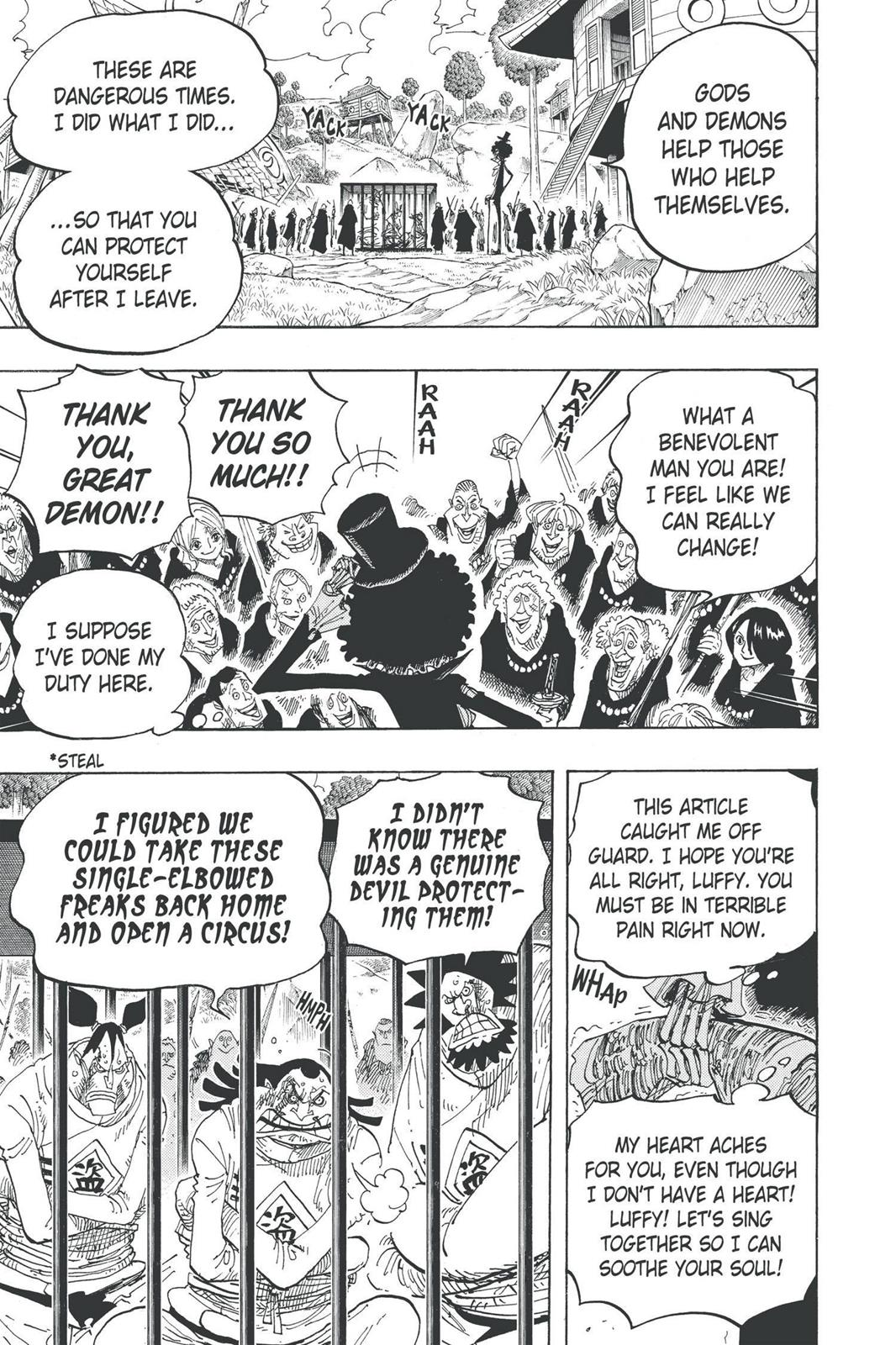 One Piece, Chapter 592 image 017