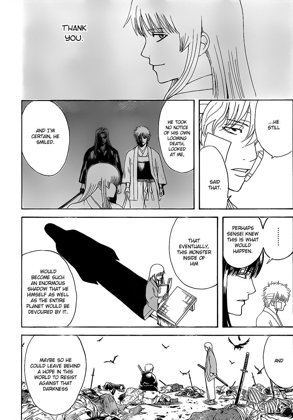 Gintama Chapter, 595 image 010
