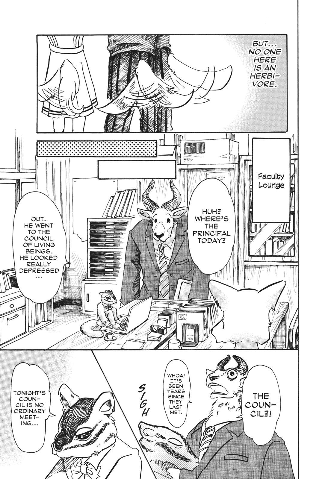 Beastars Manga, Chapter 52 image 016