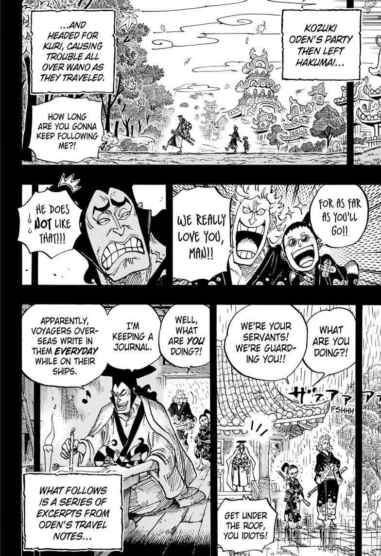 One Piece, Chapter 962 image 004
