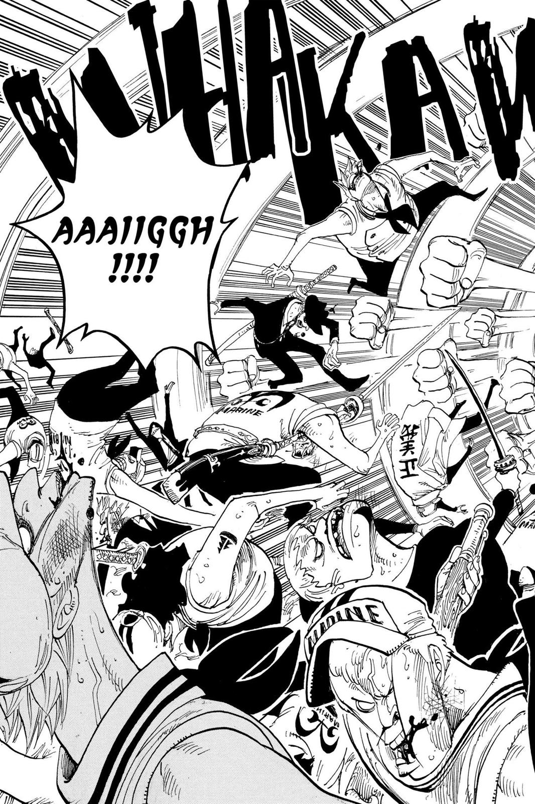 One Piece, Chapter 378 image 024
