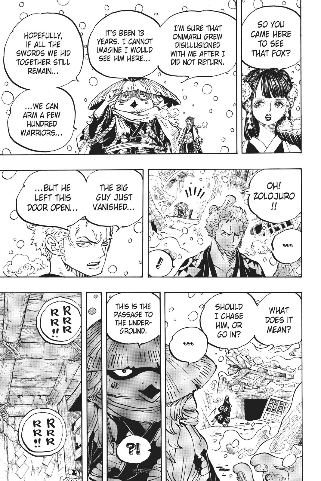 One Piece, Chapter 953 image 015
