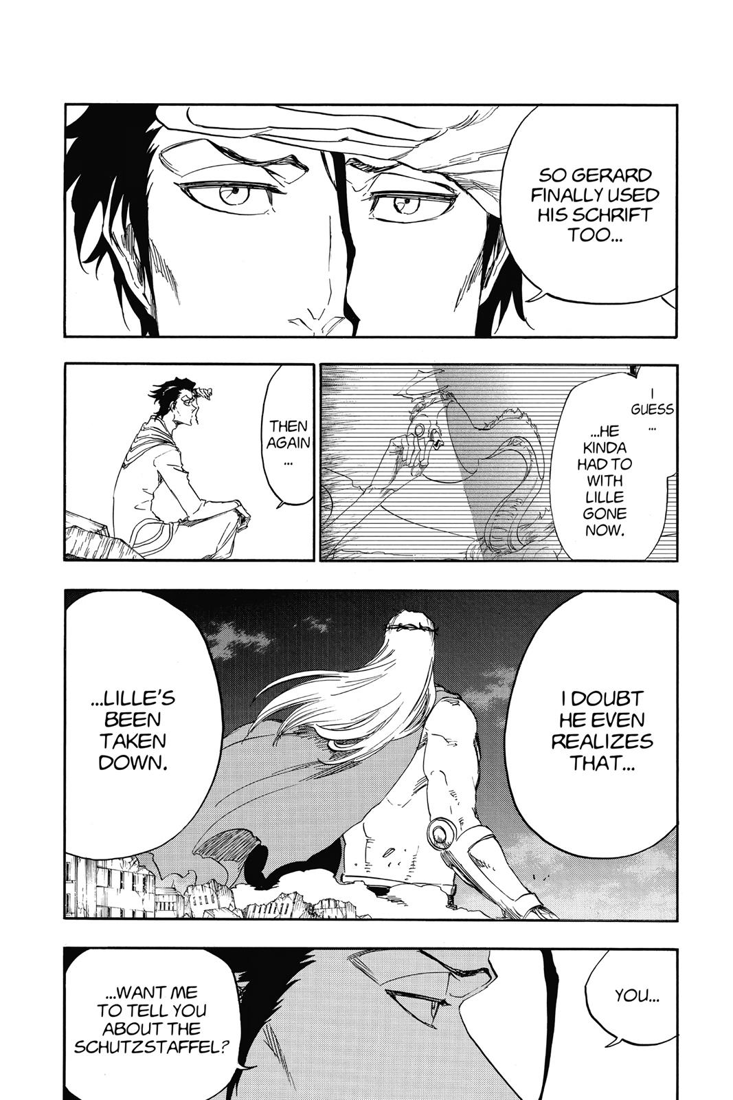 Bleach, Chapter 656 image 002
