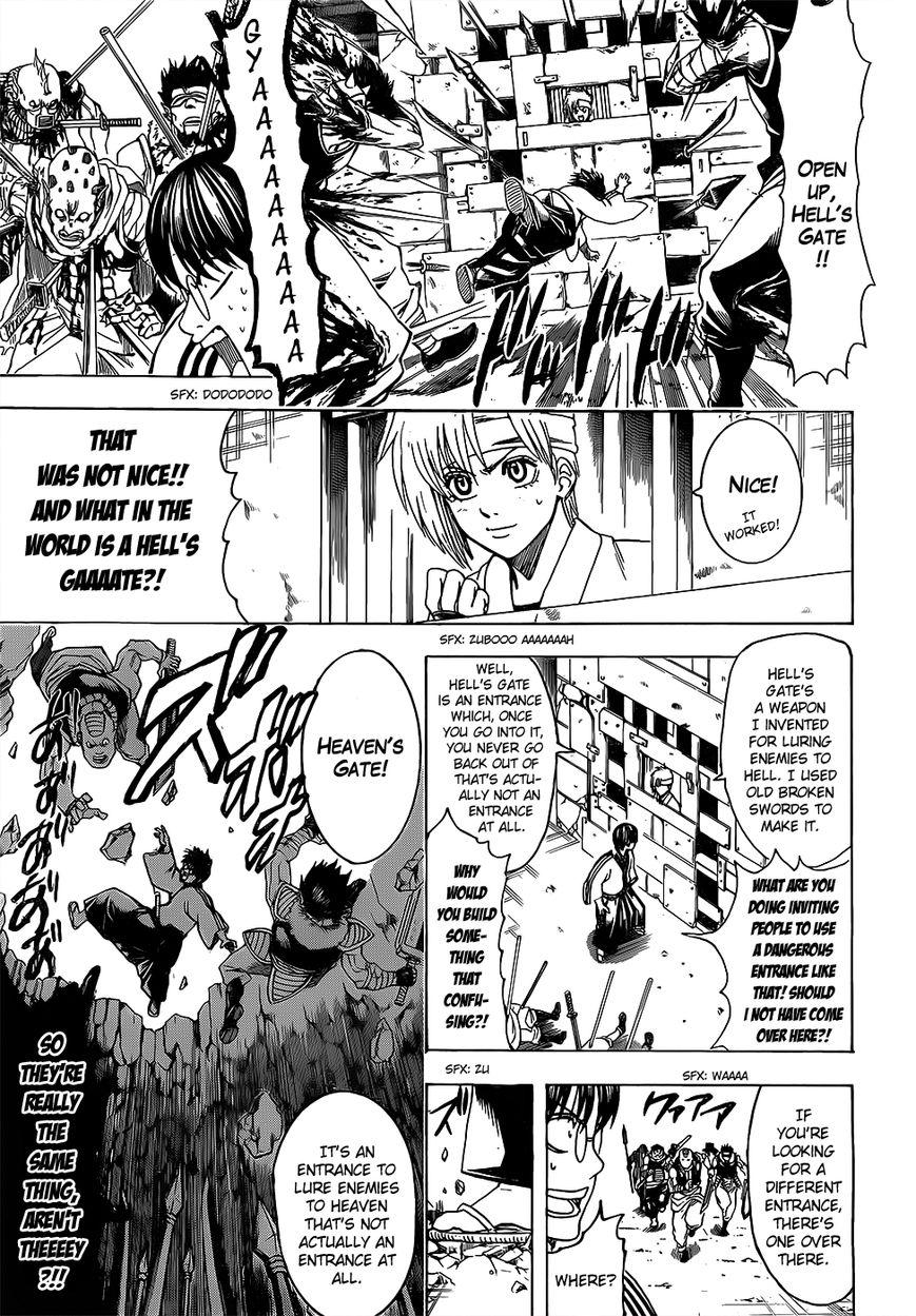Gintama Chapter, 615 image 009