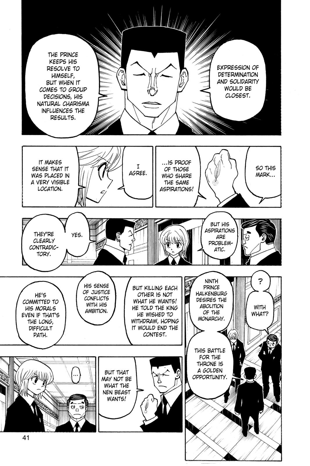 Hunter X Hunter, Chapter 372 image 013