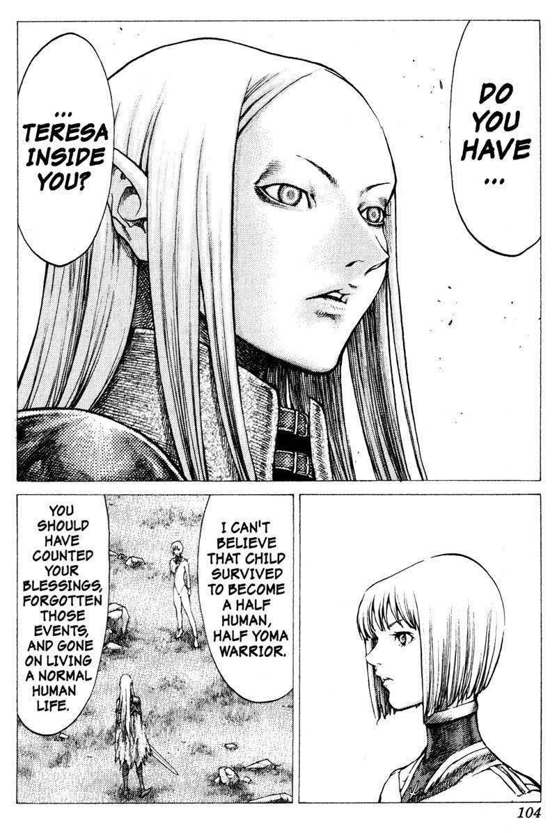 Claymore, Chapter 37 image 015