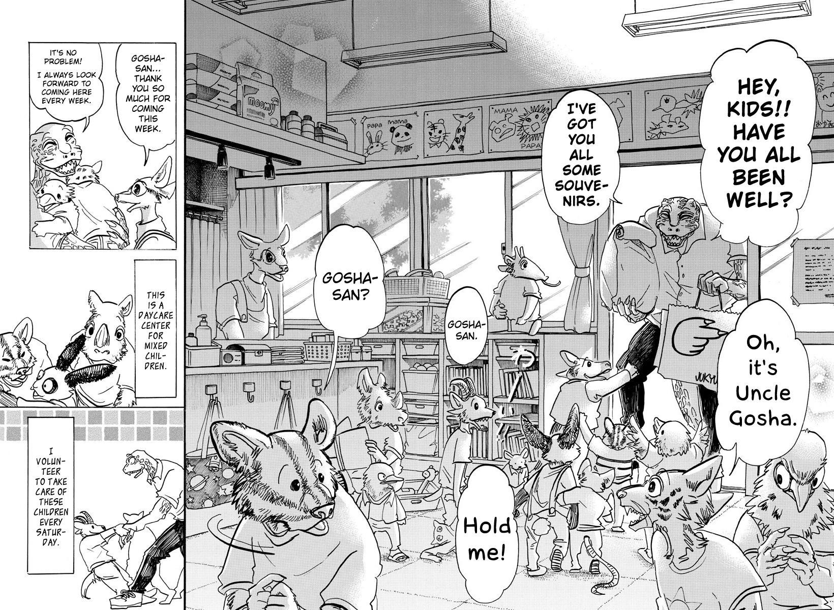 Beastars Manga, Chapter 142 image 007