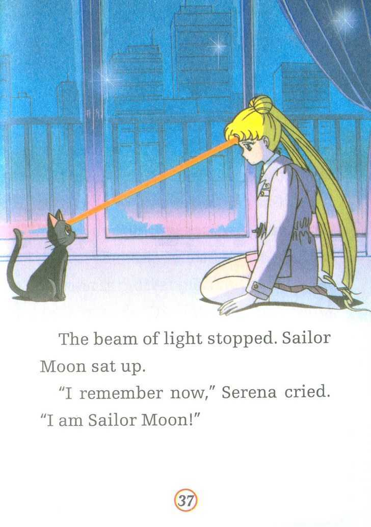 Sailor Moon, Cahpter 1.1 image 037